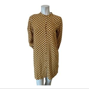 Soyaconcept Mustard Checked Tunic Size Small